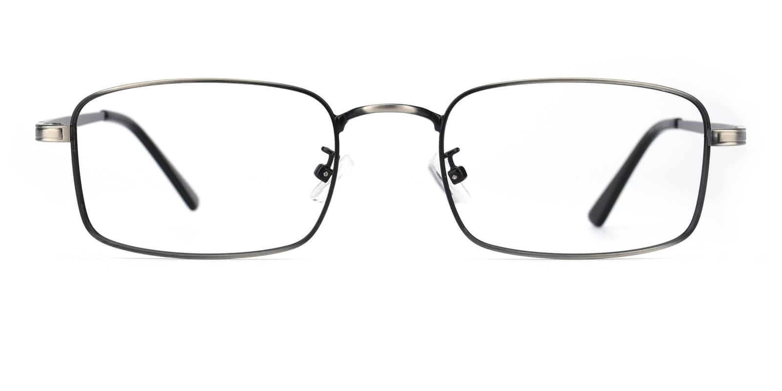 Edmonton-Gun-Rectangle-Metal-Eyeglasses-detail