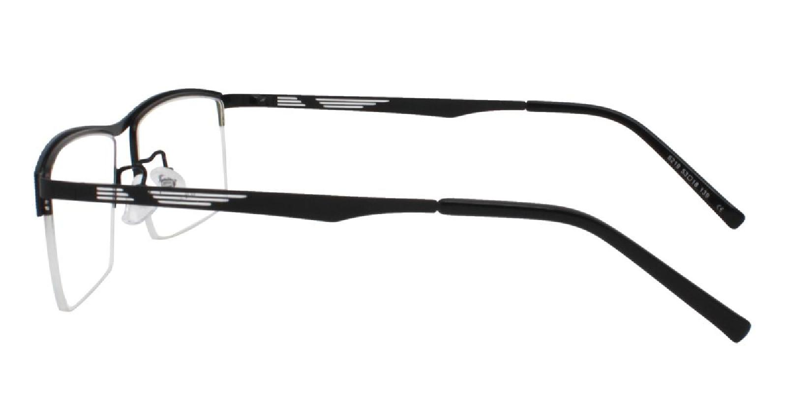 Rally-Black-Rectangle-Metal-Eyeglasses-additional3