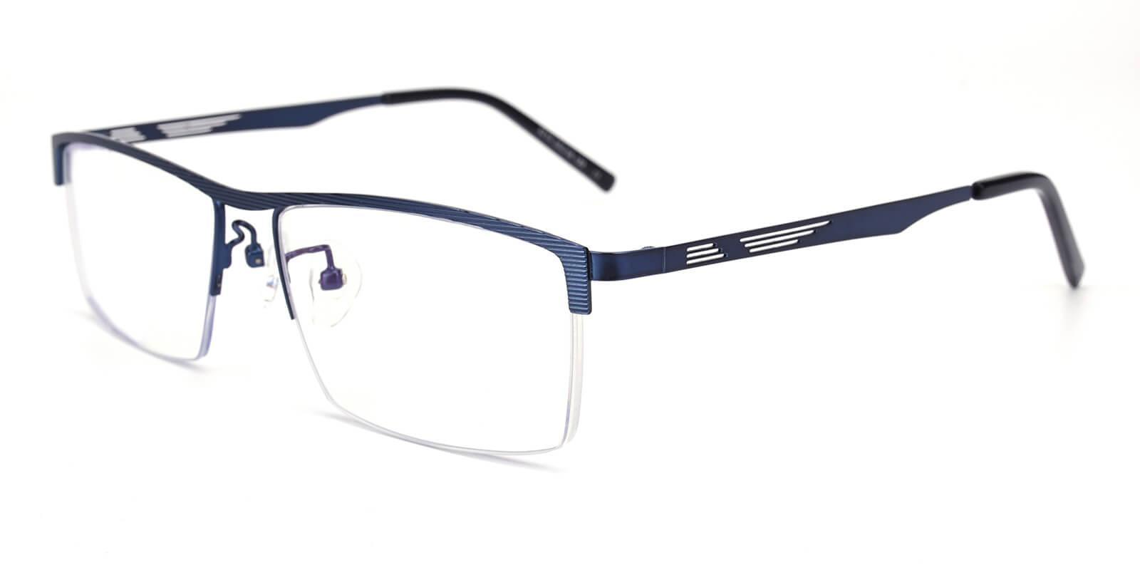 Rally-Blue-Rectangle-Metal-Eyeglasses-additional1