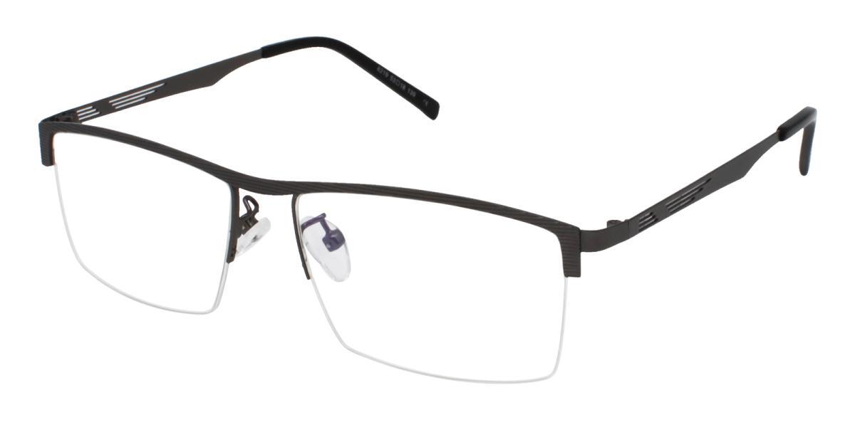 Rally-Gun-Rectangle-Metal-Eyeglasses-detail