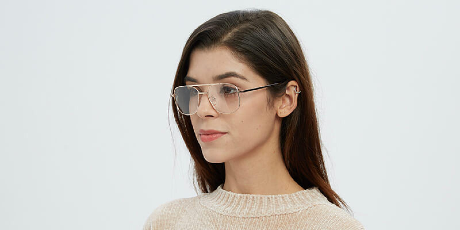 Sally-Black-Metal-Eyeglasses-detail