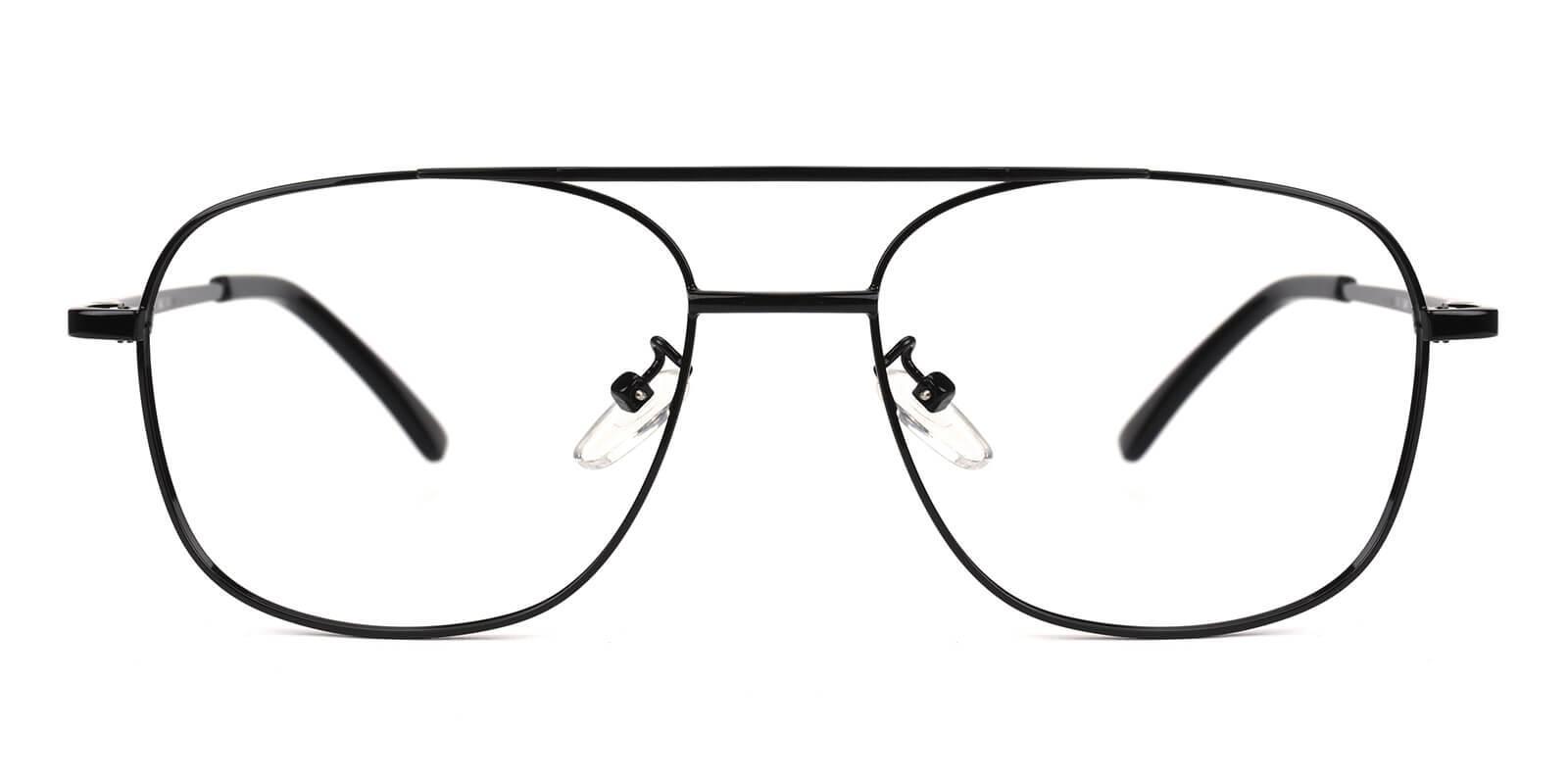 Sally-Black-Aviator-Metal-Eyeglasses-detail