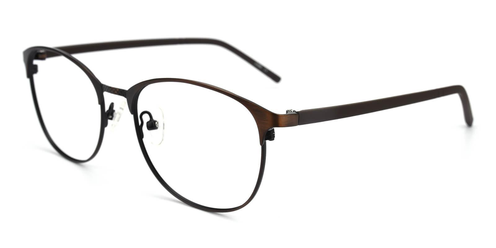 Gorge-Brown-Round-Metal-Eyeglasses-additional1