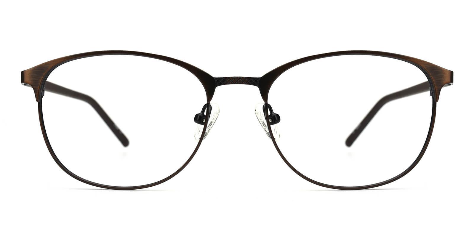 Gorge-Brown-Round-Metal-Eyeglasses-detail