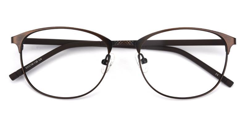 Gorge-Brown-Eyeglasses / Lightweight / NosePads