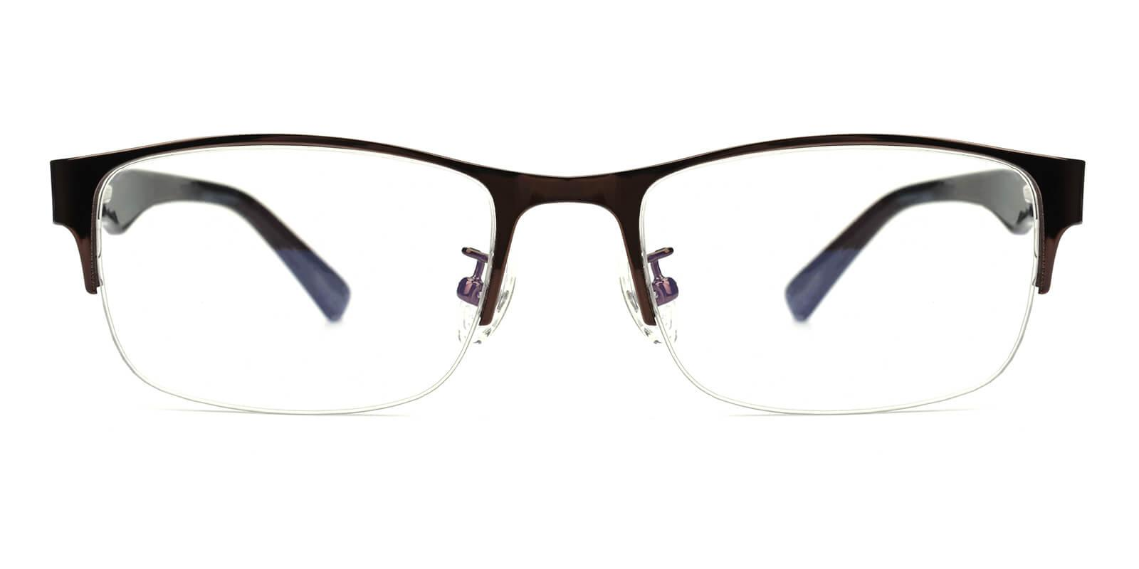Sapphire-Brown-Rectangle-Metal-Eyeglasses-additional2