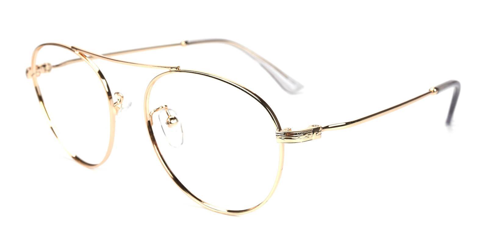 Hermoso-Gold-Aviator-Metal-Eyeglasses-additional1