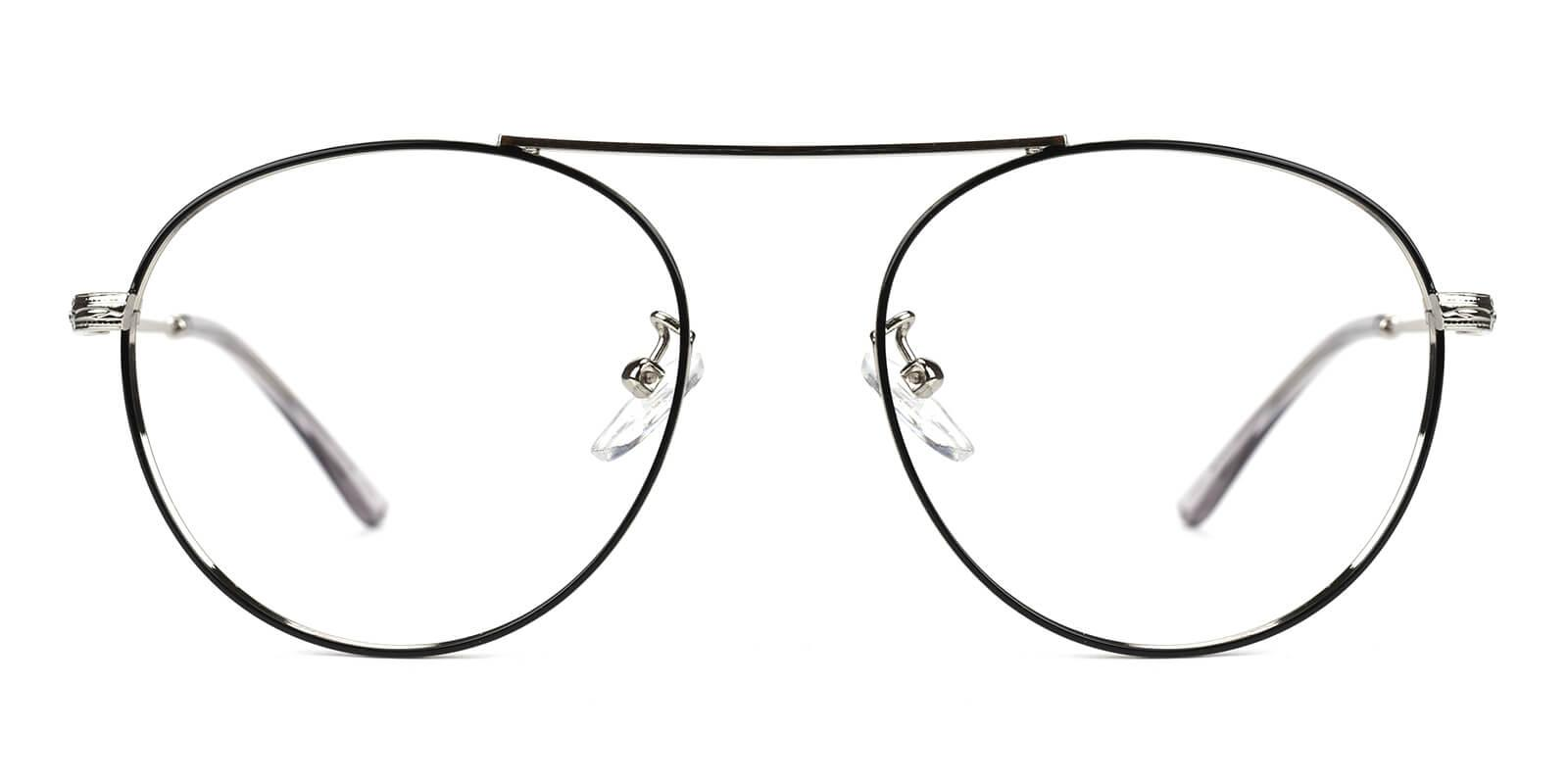 Hermoso-Silver-Aviator-Metal-Eyeglasses-additional2