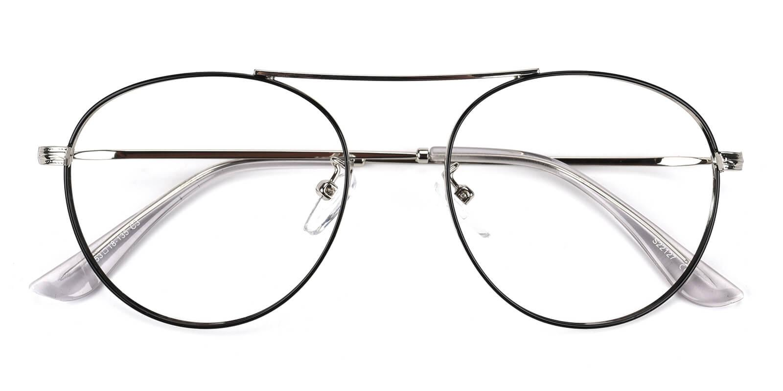 Hermoso-Silver-Aviator-Metal-Eyeglasses-detail