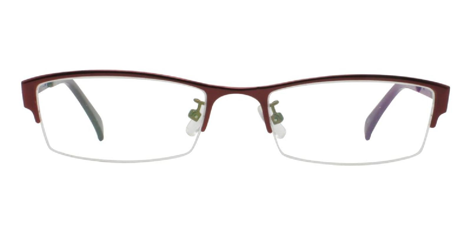 Melody-Red-Rectangle-Metal-Eyeglasses-additional2
