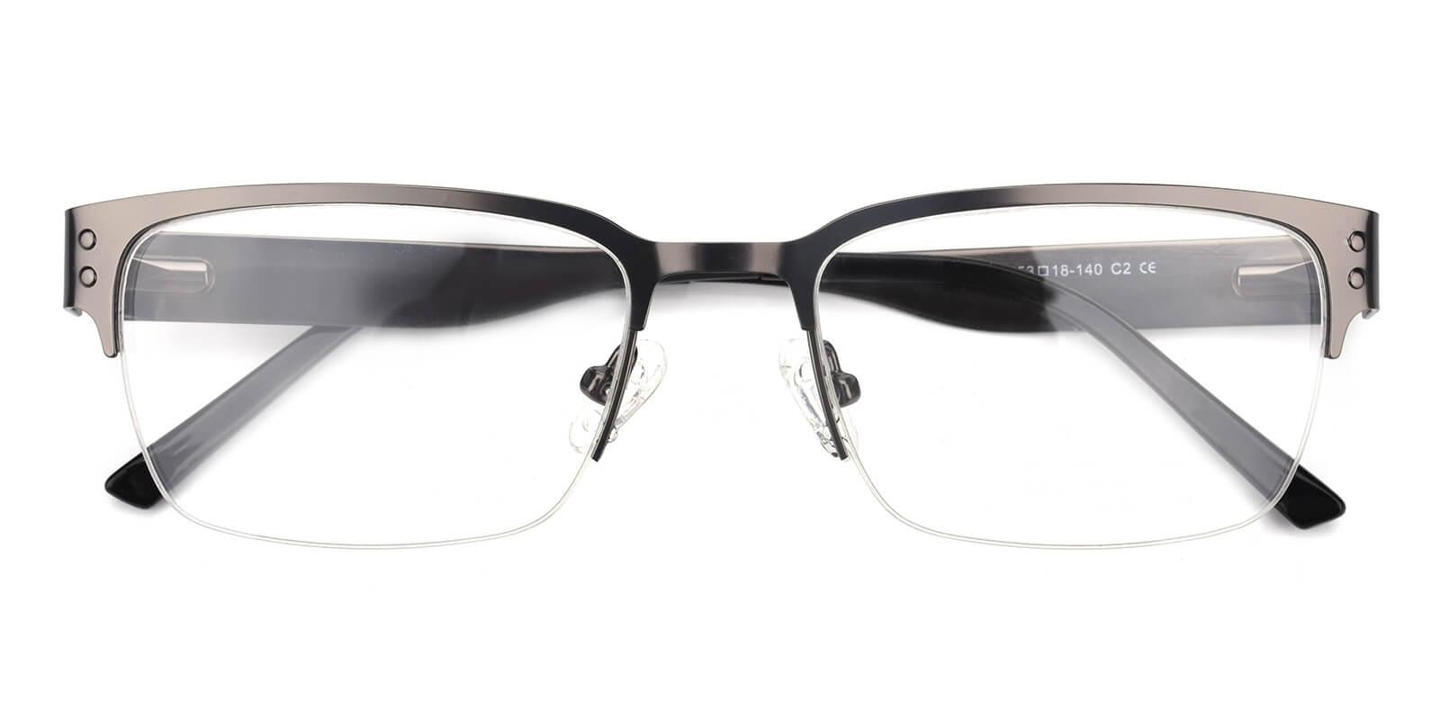 Wiflat-Gun-Rectangle-Metal-Eyeglasses-detail