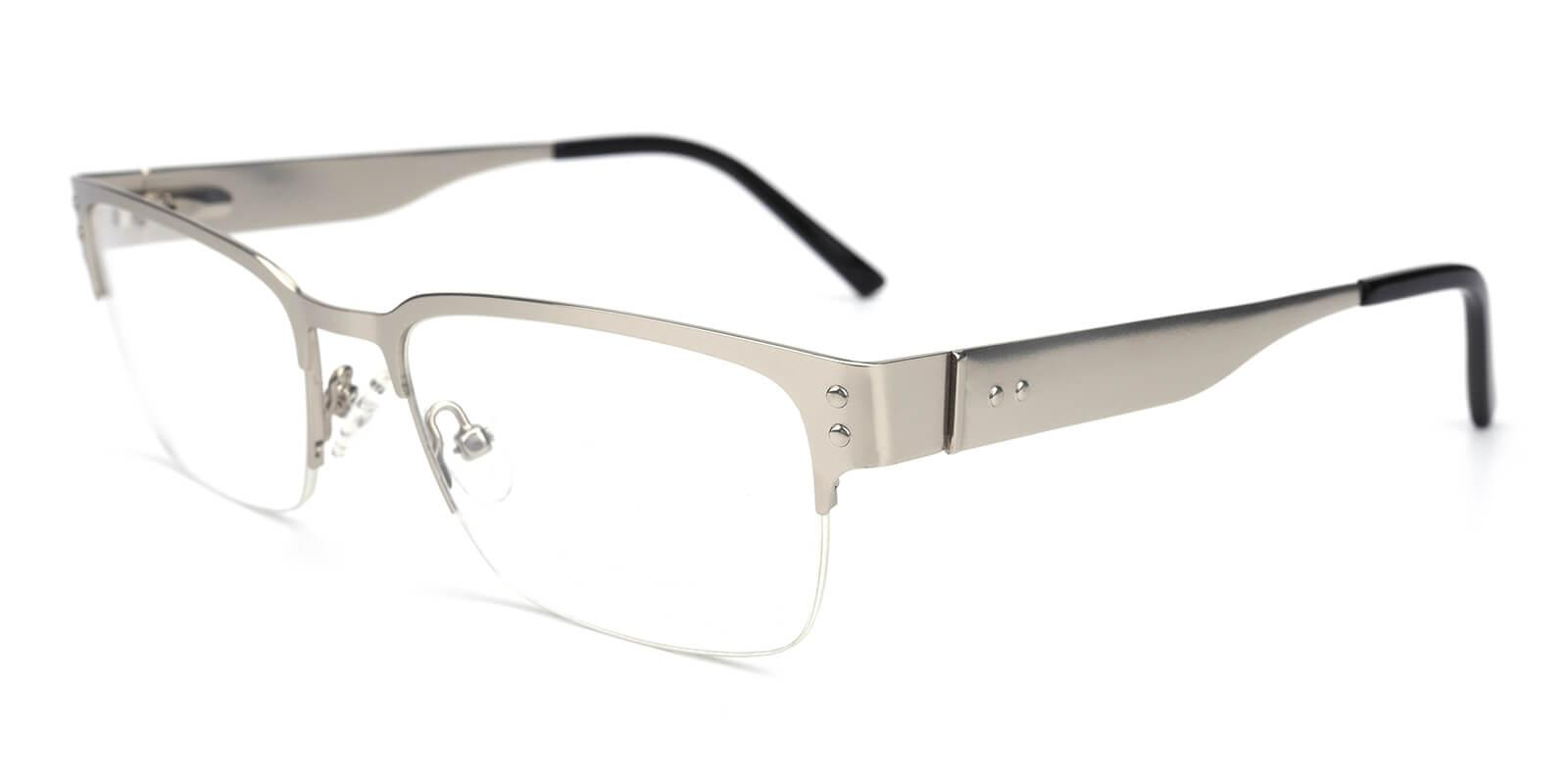 Wiflat-Silver-Rectangle-Metal-Eyeglasses-additional1