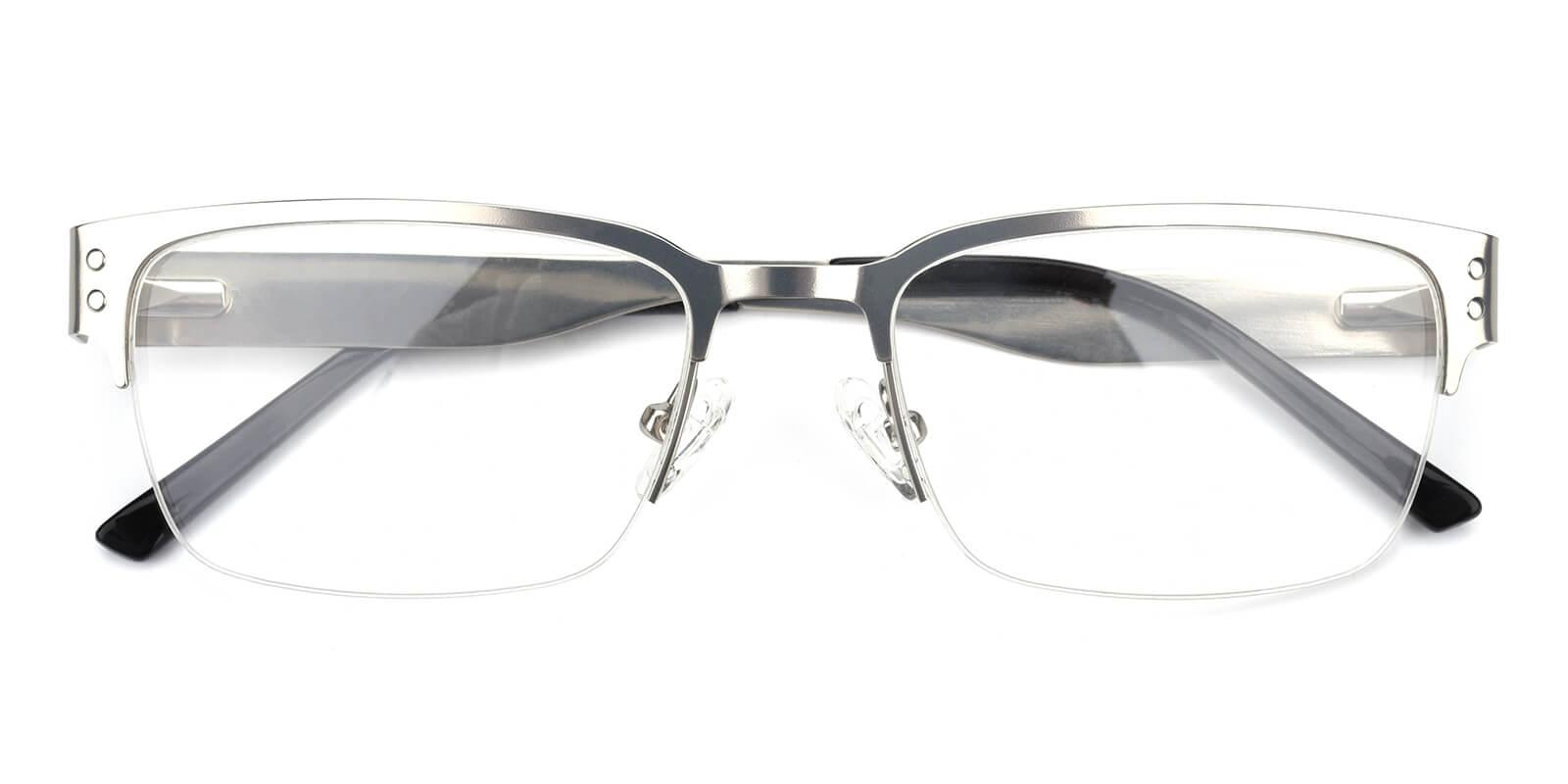 Wiflat-Silver-Rectangle-Metal-Eyeglasses-detail