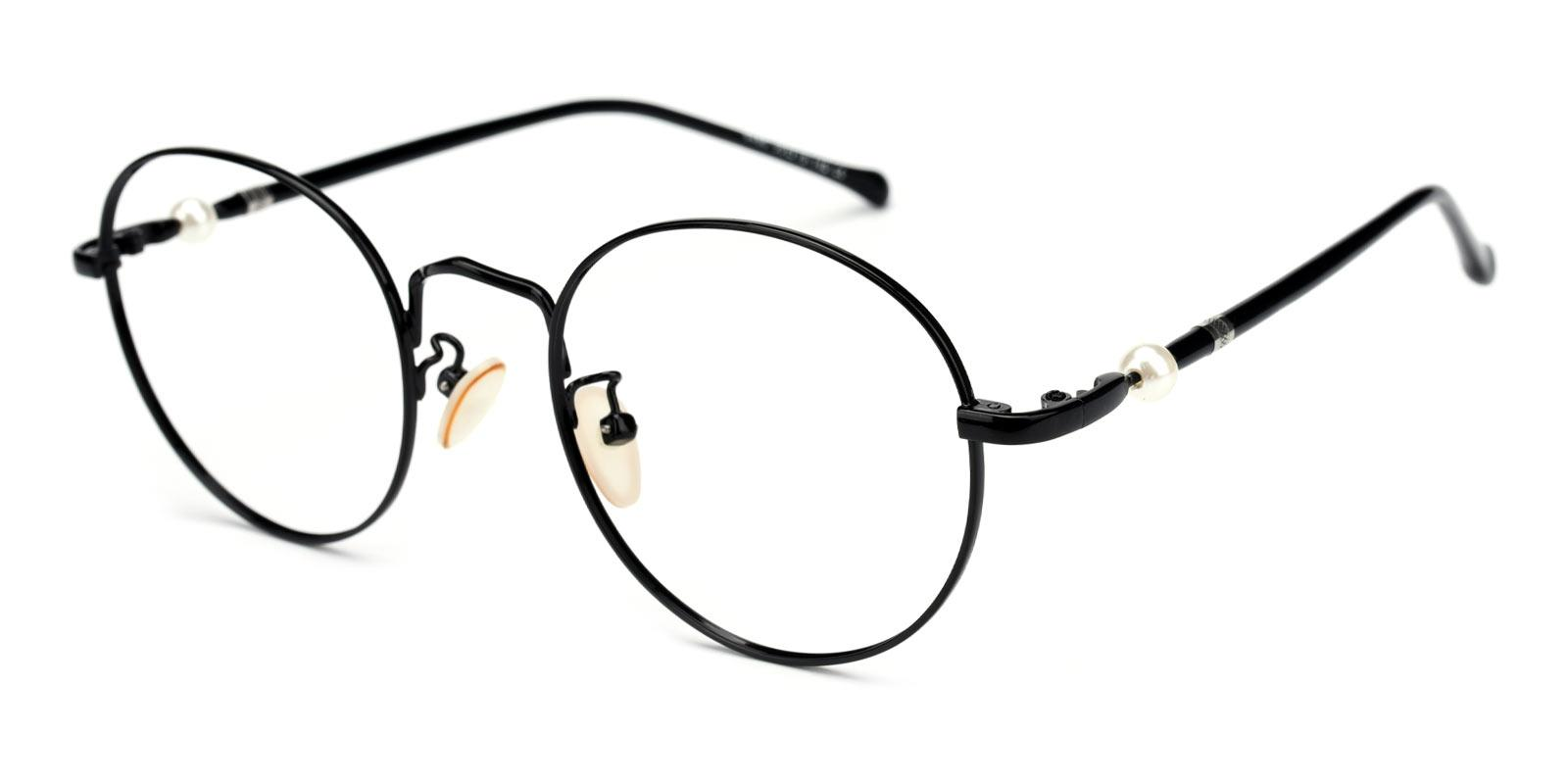 Oswego-Black-Round-Metal-Eyeglasses-additional1