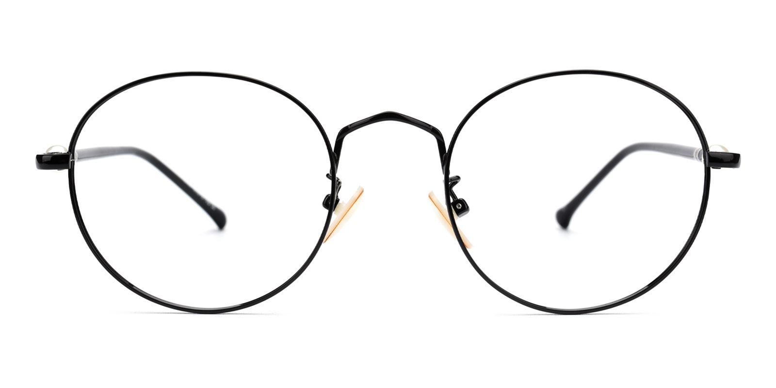 Oswego-Black-Round-Metal-Eyeglasses-additional2