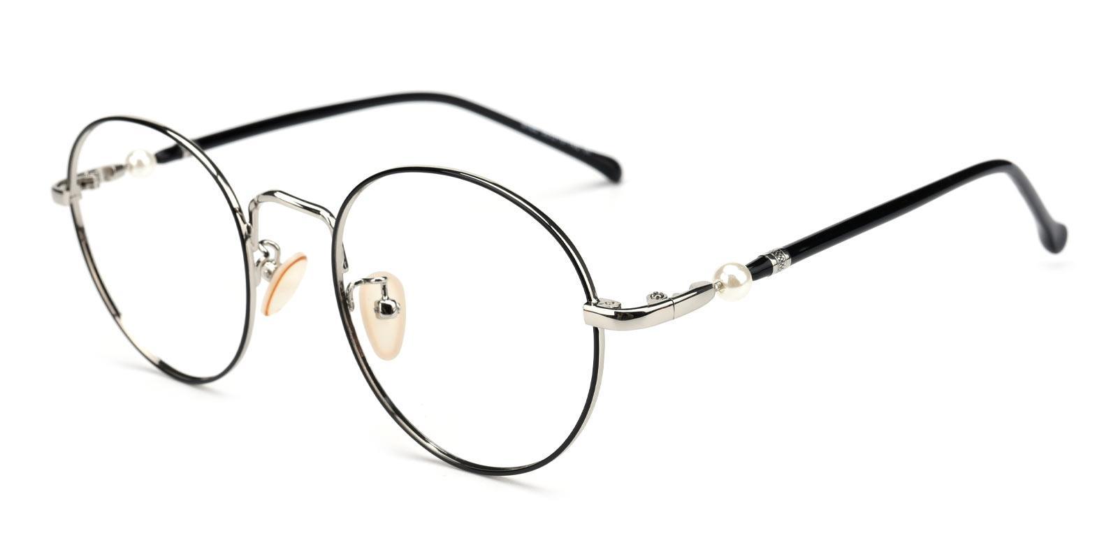 Oswego-Silver-Round-Metal-Eyeglasses-additional1
