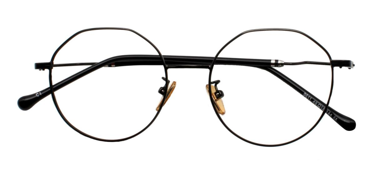 -Black-Geometric-Metal-Eyeglasses-additional2