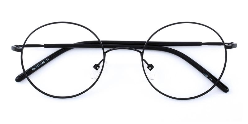 Maddy-Black-Eyeglasses