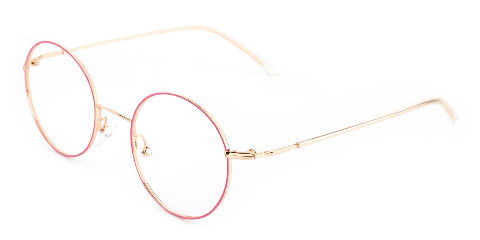 Maddy-Pink-Round-Metal-Eyeglasses-additional1