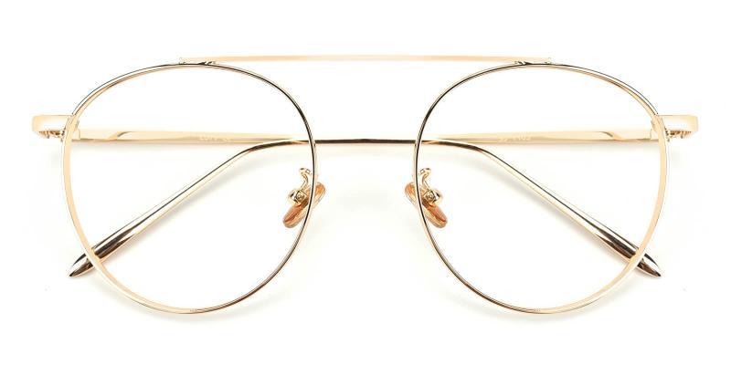 Eos-Gold-Eyeglasses