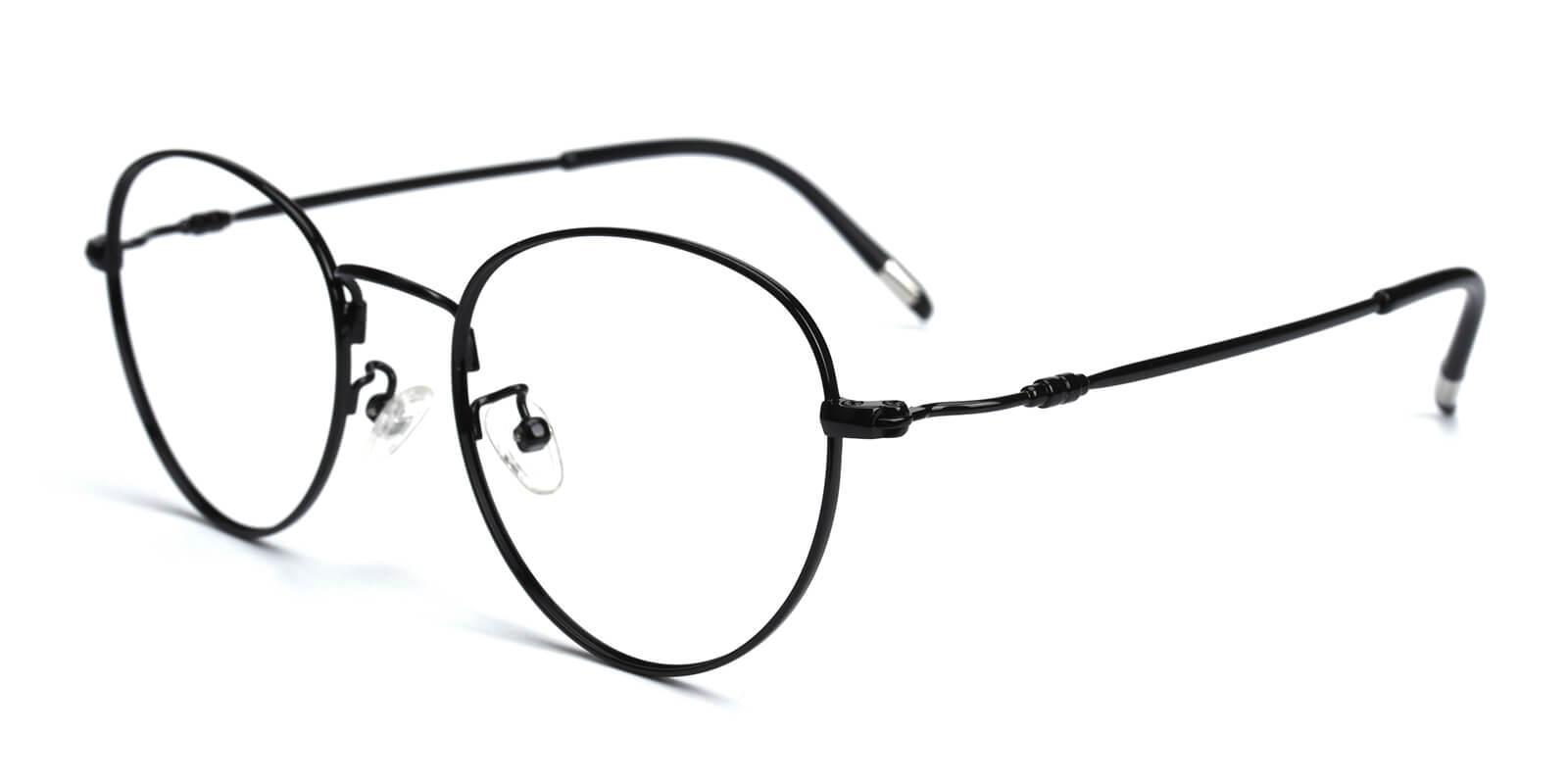 Sadie-Black-Round-Metal-Eyeglasses-additional1