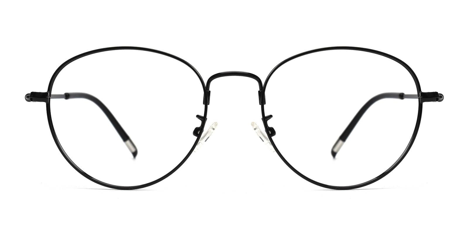 Sadie-Black-Round-Metal-Eyeglasses-detail