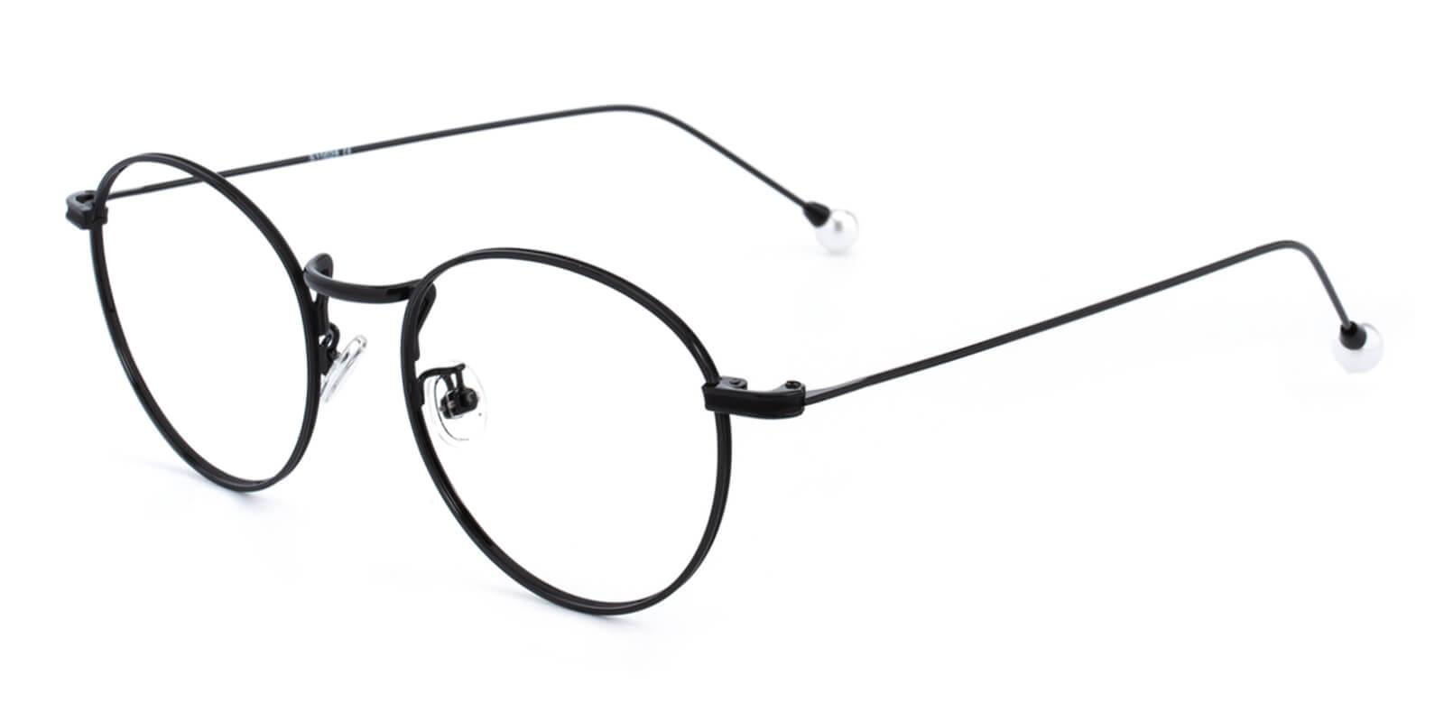 Frail-Black-Round-Metal-Eyeglasses-additional1
