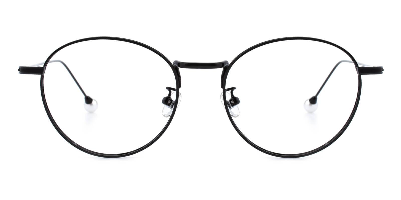 Frail-Black-Round-Metal-Eyeglasses-additional2