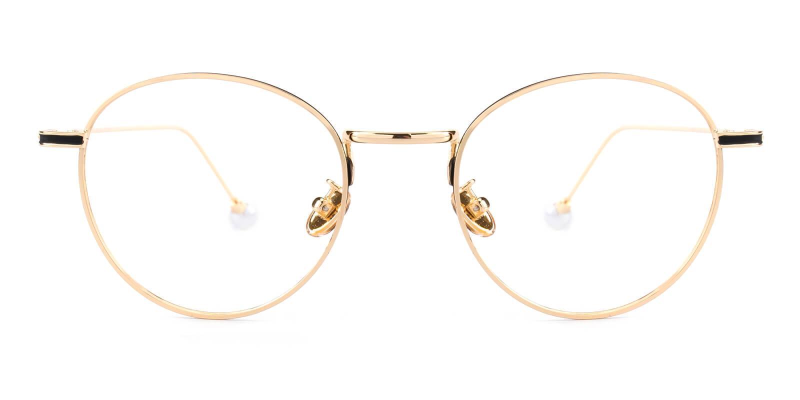 Frail-Gold-Round-Metal-Eyeglasses-detail