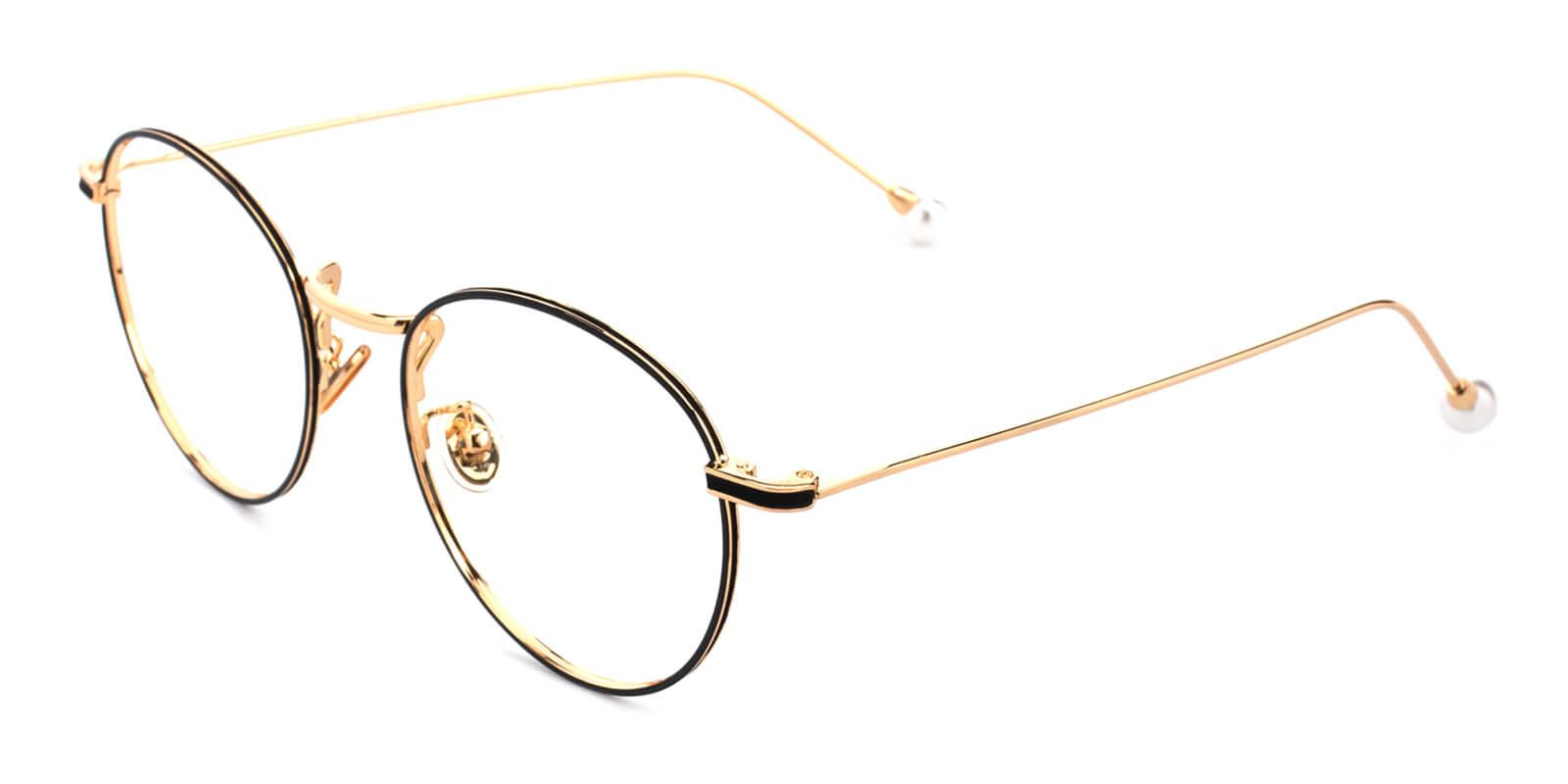 Frail-Pattern-Round-Metal-Eyeglasses-additional1