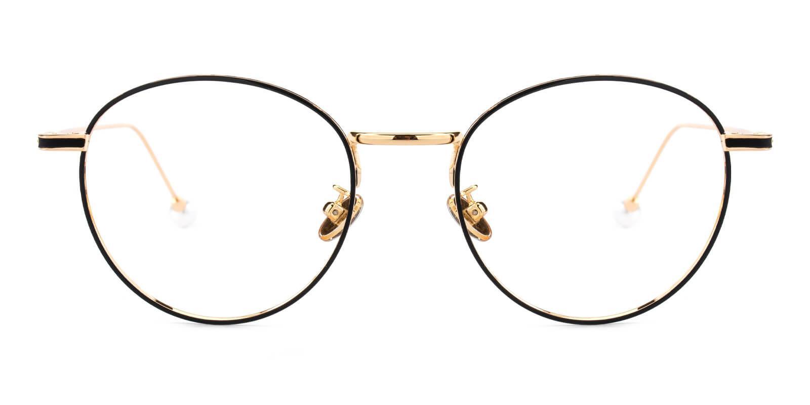 Frail-Pattern-Round-Metal-Eyeglasses-additional2