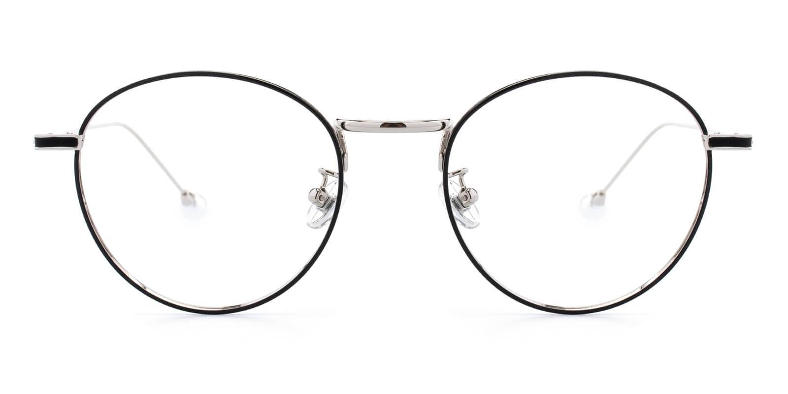 Frail-Silver-Round-Metal-Eyeglasses-detail