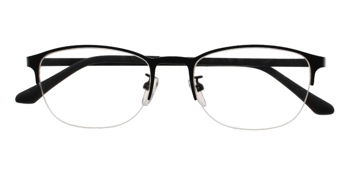 Cora-Black-Rectangle-Metal-Eyeglasses-detail