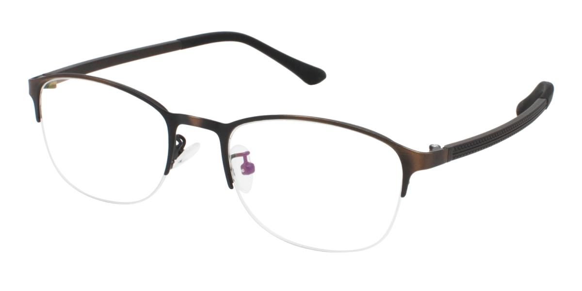 Cora-Brown-Rectangle-Metal-Eyeglasses-detail