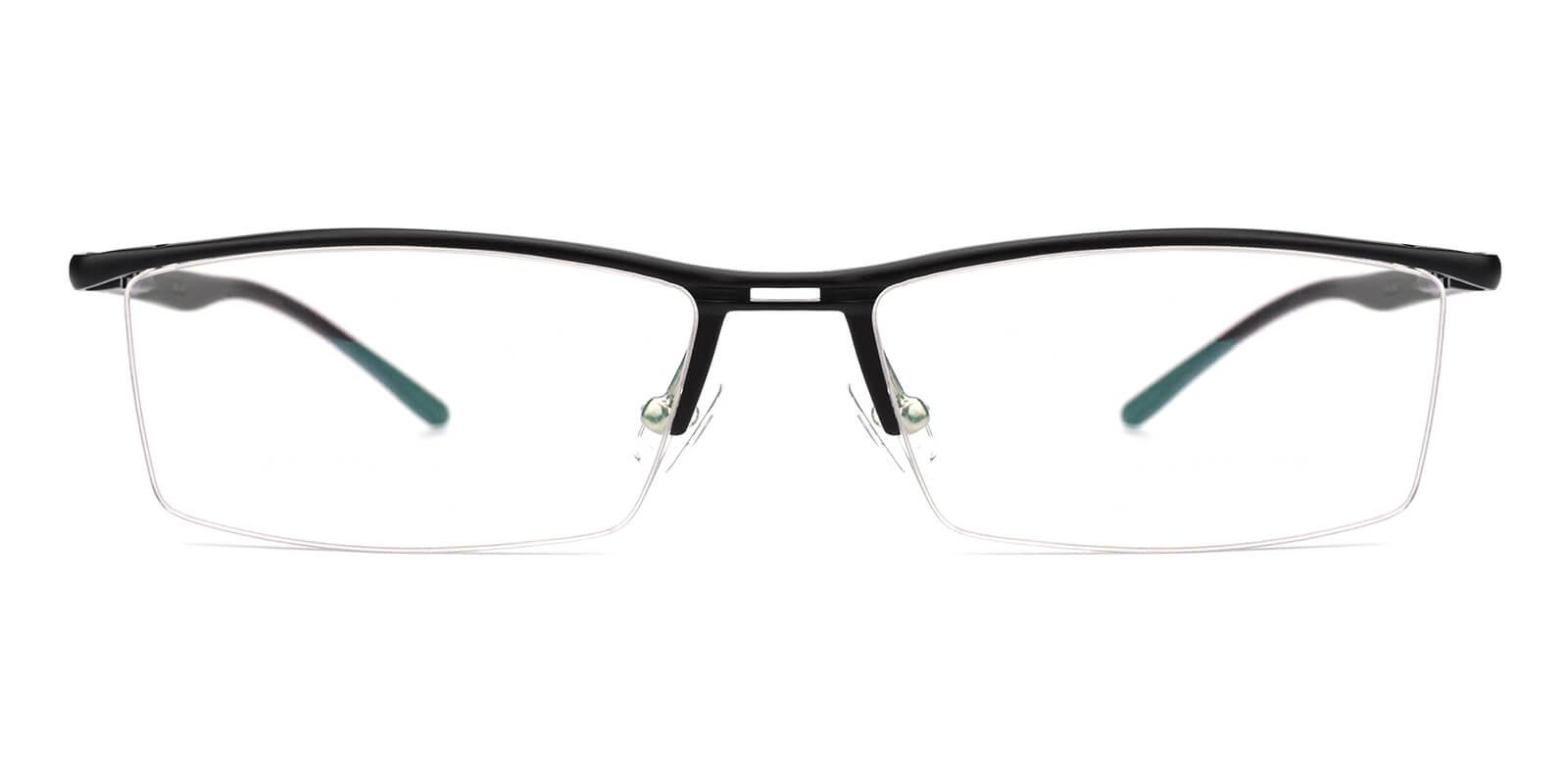 Metalla-Black-Rectangle-Metal-Eyeglasses-additional2