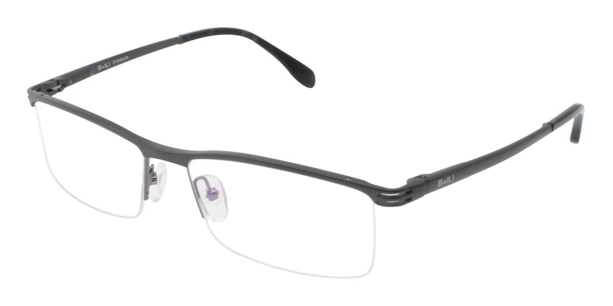 Matin-Black-Rectangle-Metal-Eyeglasses-additional1