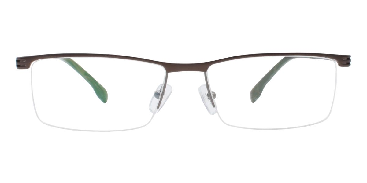 Matin-Gun-Rectangle-Metal-Eyeglasses-detail
