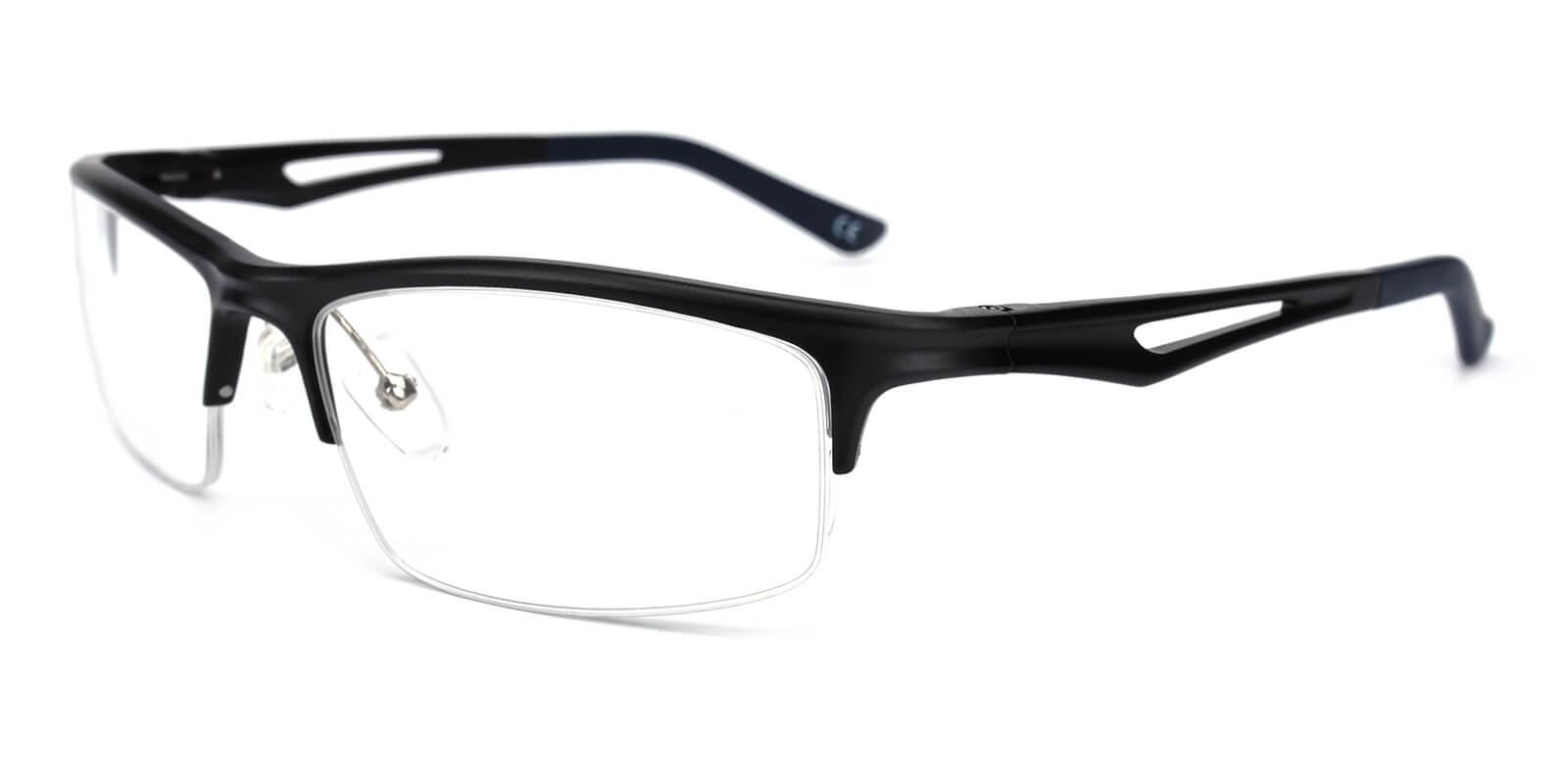Muhammad-Black-Rectangle-Metal-Eyeglasses-additional1