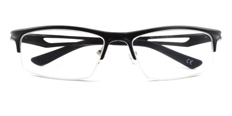 Muhammad-Black-Eyeglasses