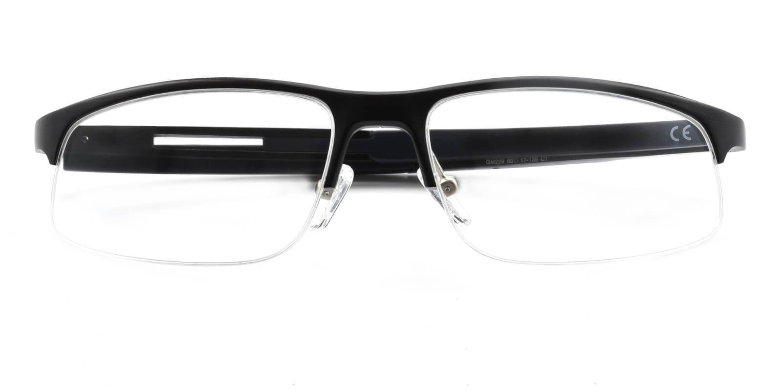 Graysun-Black-Rectangle-Metal-SportsGlasses-detail
