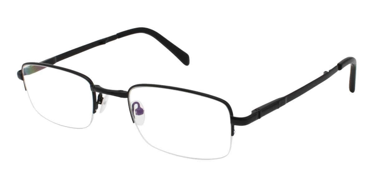 Andrew-Black-Rectangle-Metal-Eyeglasses-additional1