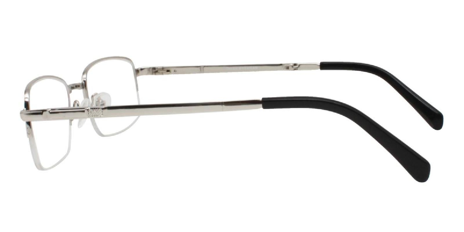 Andrew-Silver-Rectangle-Metal-Eyeglasses-detail