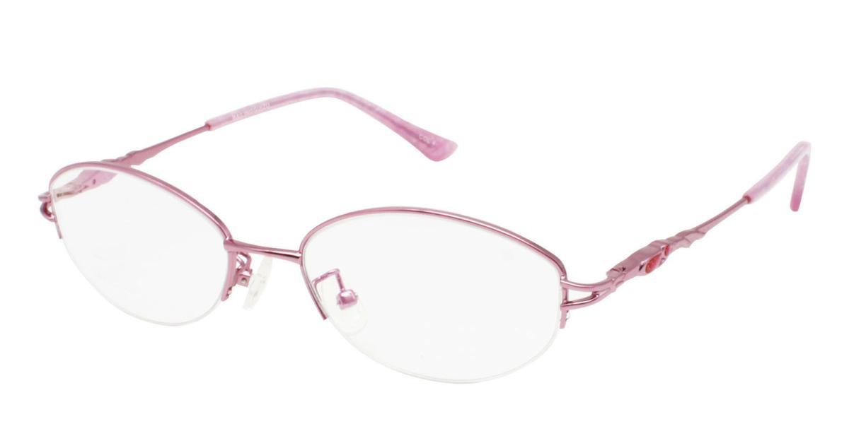 -Pink-Oval-Metal-Eyeglasses-additional1