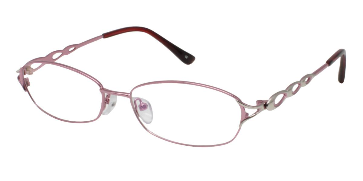 -Pink-Rectangle-Metal-Eyeglasses-additional1