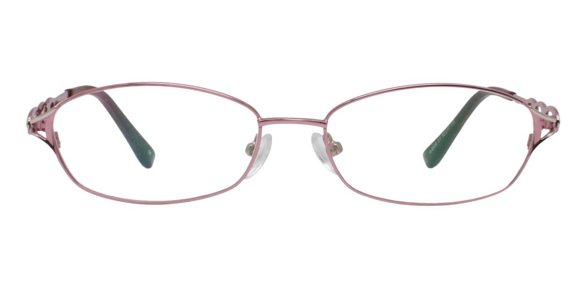-Pink-Rectangle-Metal-Eyeglasses-additional2