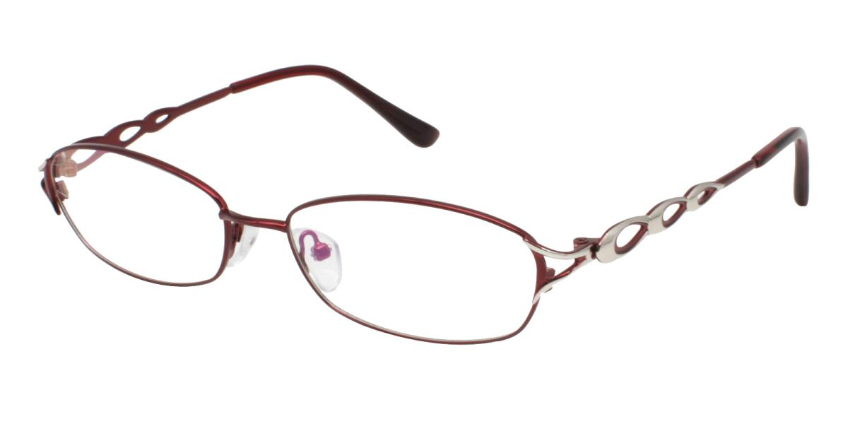 -Red-Rectangle-Metal-Eyeglasses-additional1