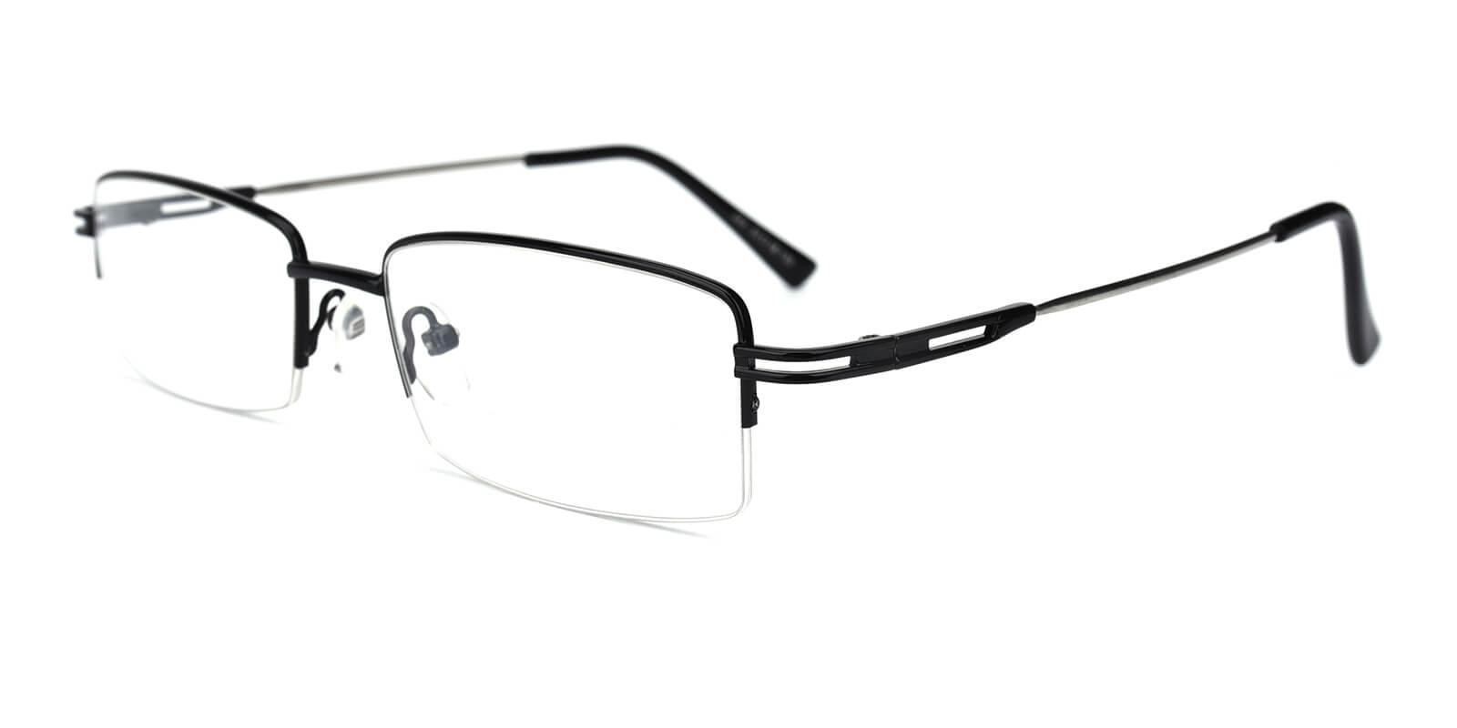 Studio-Black-Rectangle-Metal-Eyeglasses-detail