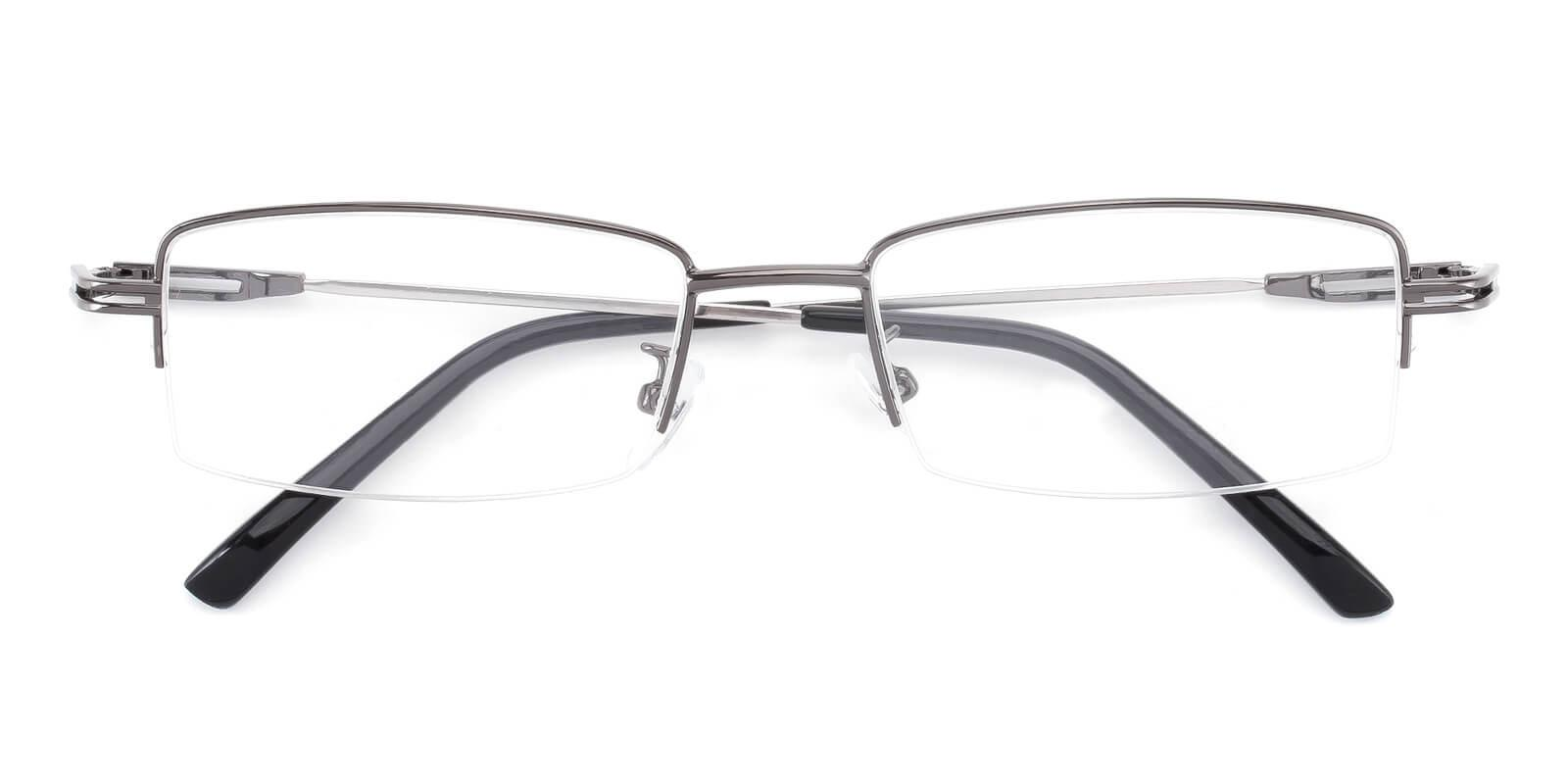 Studio-Gun-Rectangle-Metal-Eyeglasses-detail