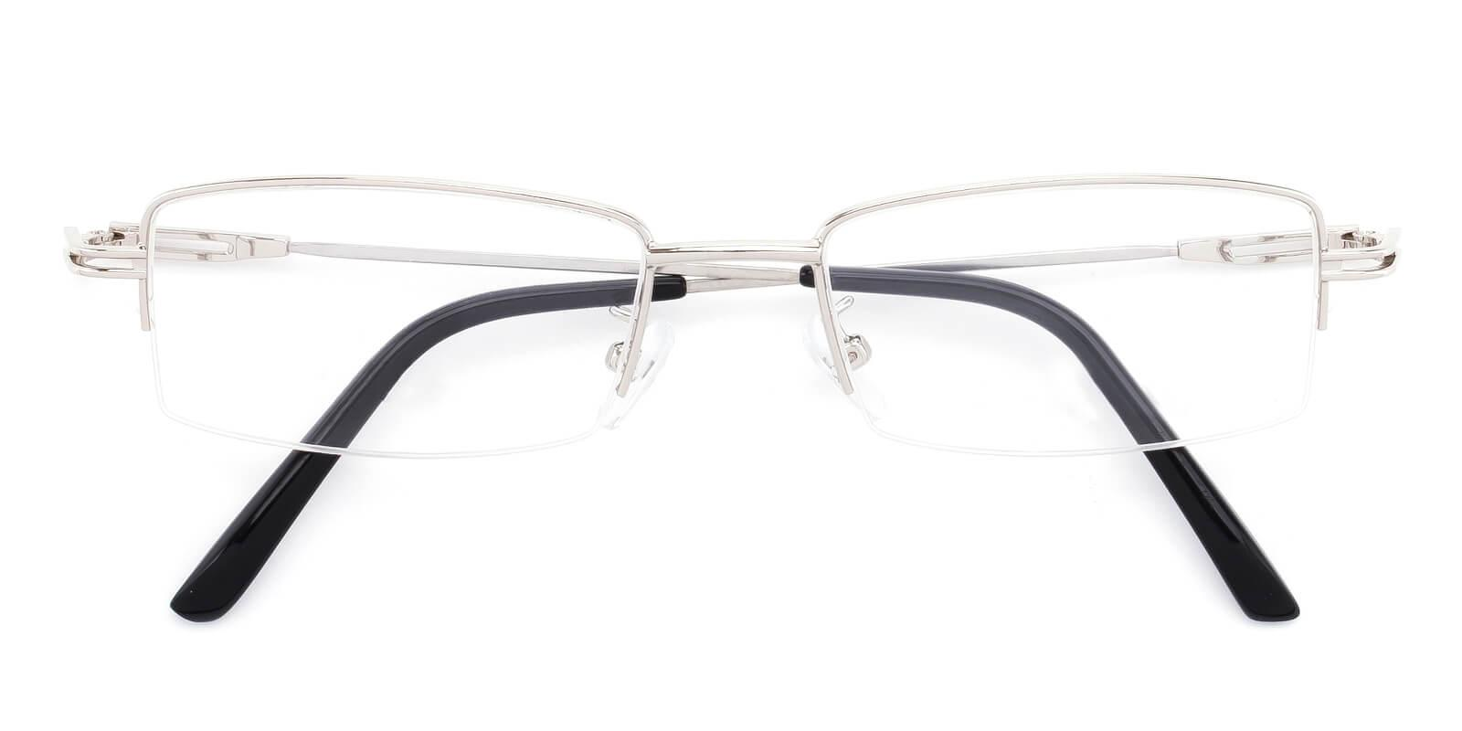 Studio-Silver-Rectangle-Metal-Eyeglasses-detail
