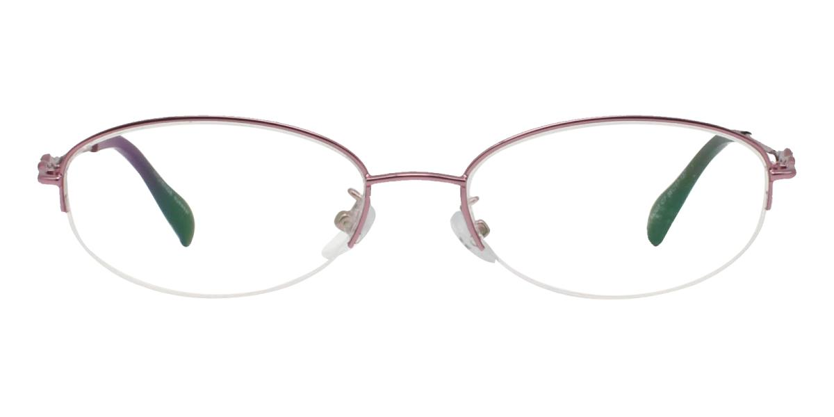 Carving-Pink-Oval-Metal-Eyeglasses-additional2